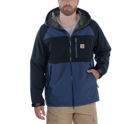 Kurtka Carhartt Force Hooded Jacket Blue