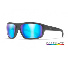 Okulary Wiley X CONTEND Capt Pol Blue Mirror Matte