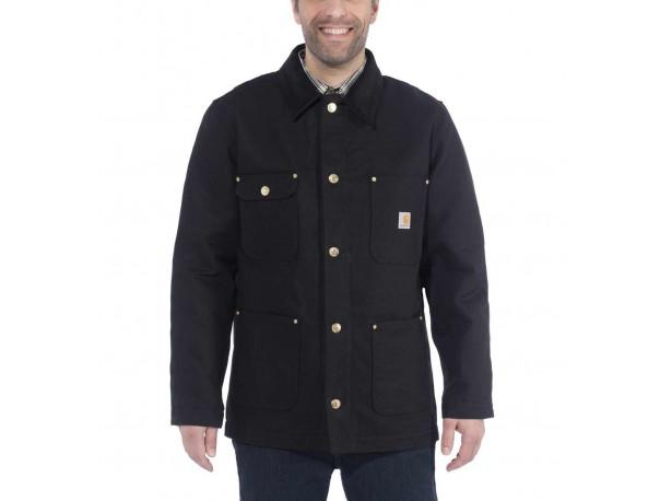 Kurtka Carhartt Firm Duck Chore Coat Black