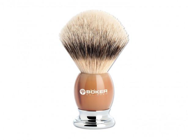 Pędzel do golenia Boker Premium Horn