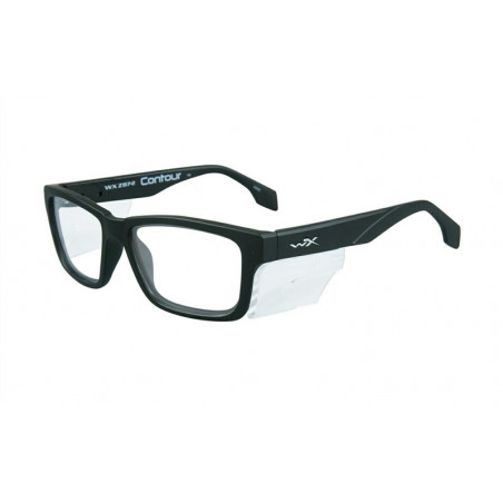 Okulary ochronne WX CONTOUR Black Frame