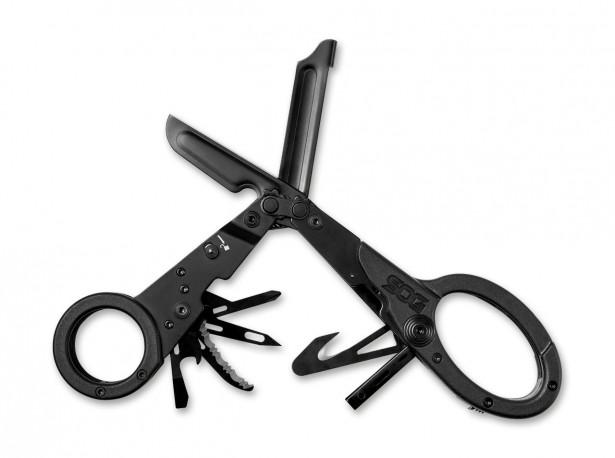 Nożyczki ratownicze SOG ParaShears Black