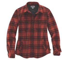 Koszula Ocieplana Carhartt Hamilton Plaid Redwood