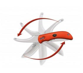 Nóż Outdoor Edge SwingBlade Orange Clam