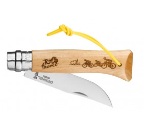 Nóż Opinel Tour De France 2020 Engraving 08